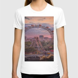 Wheel of fortune in Vienna T-shirt