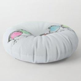 NEON ROBINS Floor Pillow