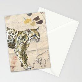 Ocelot Journal Stationery Cards