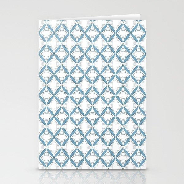 Light Blue Web Stationery Cards