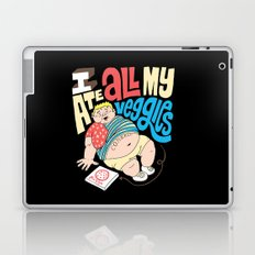 Pizza Veggies Laptop & iPad Skin