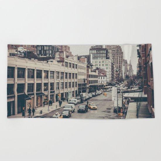 Tough Streets - NYC Beach Towel