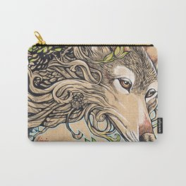 Dog of the Mountain - Honshu Wolf Carry-All Pouch