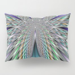Fractal Roadway Pillow Sham