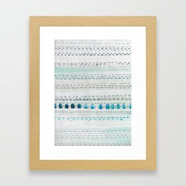 Sea Stitch Framed Art Print