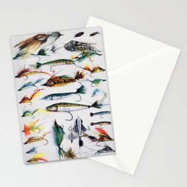 Flies and Lures Stationery Cards