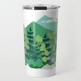 Boreal forest Travel Mug