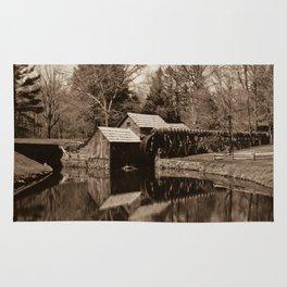 Mabry Mill (Sepia) Rug