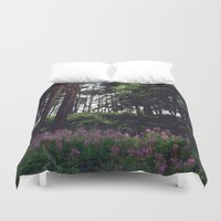 finland Duvet Covers featuring Porvoo- Finland by Cynthia del Rio