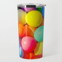 Colorful Toy Balloons Travel Mug