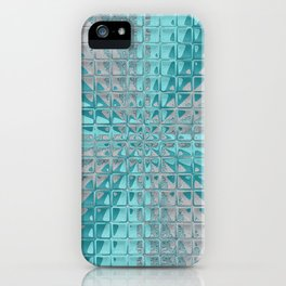 Aqua Reflections iPhone Case