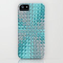 Aqua Reflections iPhone Case
