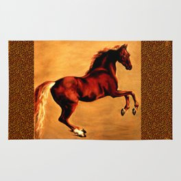 The Horse, after  George Stubbs Rug