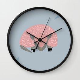 Armadillo's way Wall Clock