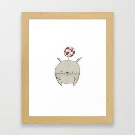 minima - rawr 02 Framed Art Print
