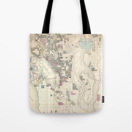 Seattle 1890 Tote Bag