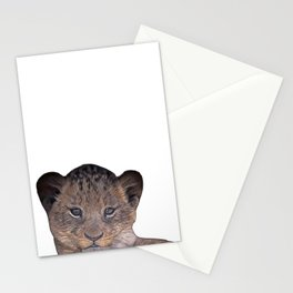 baby cheetah Stationery Cards