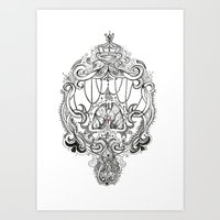 lungs Art Prints featuring Lungs by thhe