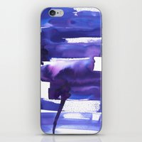 metropolis iPhone & iPod Skins featuring Metropolis by Amy Sia