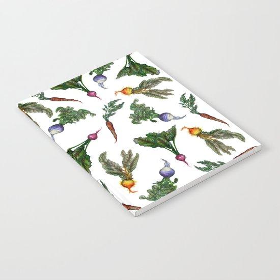 Watercolor Veggies Notebook