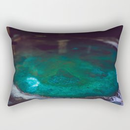 Color Dye and Water  - Three Rectangular Pillow