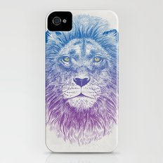 Face of a Lion Slim Case iPhone (4, 4s)