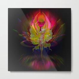 Flowersmagic - Rose Metal Print