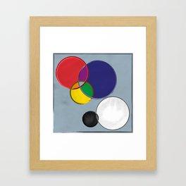 Jerseys Framed Art Print