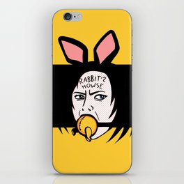 Rabbit's Howse iPhone Skin