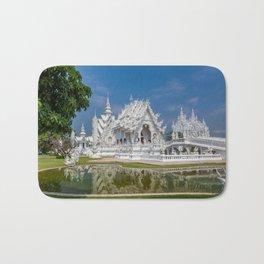 White Temple Thailand Bath Mat