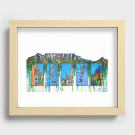 Mother City Recessed Framed Print