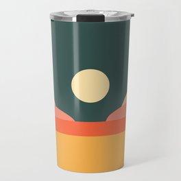 Geometric Landscape 14 Travel Mug