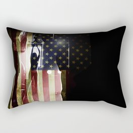 Casting Long Shadows Rectangular Pillow
