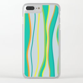 Lifestyle Yoga Mat Seaweed Clear iPhone Case