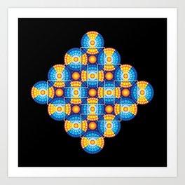Microphysical 06.2 Art Print