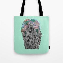 Dredlock Dog (Pastel Aqua Edition) Tote Bag