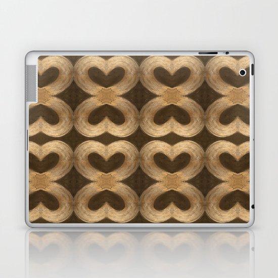 Burleniya hearts (alternative version) Laptop & iPad Skin