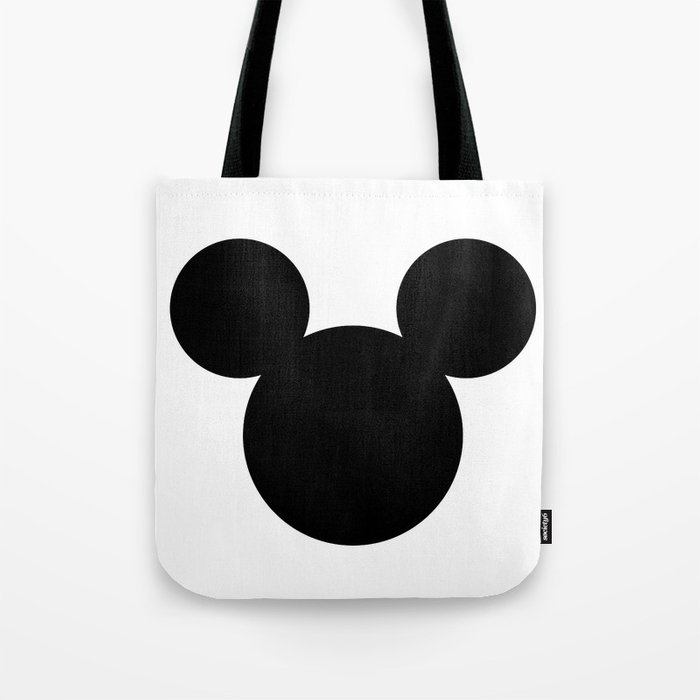 mickey mouse head tote bag by fulvio 84 society6