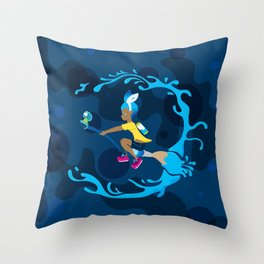 Inkling Delivery Service Throw Pillow