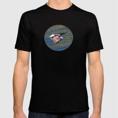 Eagle: Low Level Mission Black Mens Fitted Tee MEDIUM