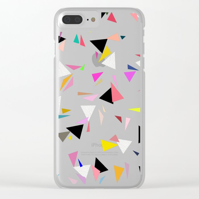 Pattern 0116 Clear iPhone Case