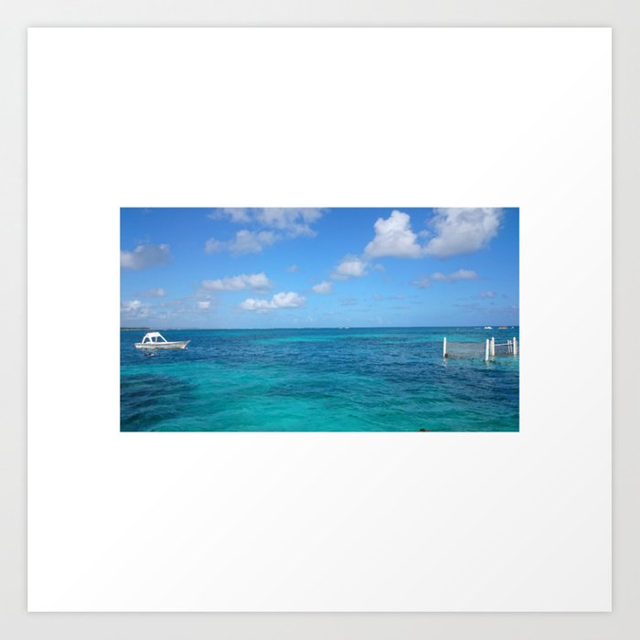 Dominican Republic Art Print