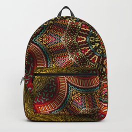 Tapestry Of The Golden Gate Ferry Backpack