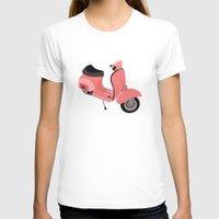 vespa T-shirts featuring Vespa by Fabian Bross