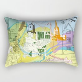 Norwich- City of Stories Rectangular Pillow