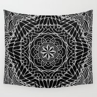 ethnic Wall Tapestries featuring Ethnic ornament by Julia Badeeva