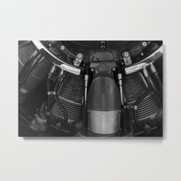 Piston Power Metal Print