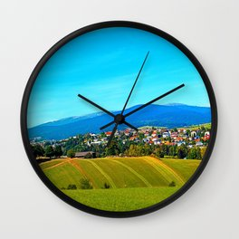 Unsettled geography Wall Clock
