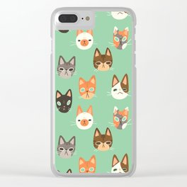 CATS CATS CATS Clear iPhone Case