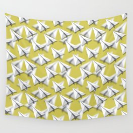 Paper Airplane 5 Wall Tapestry